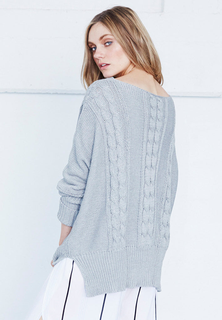Charlotte Cable Knit by Faithfull The Brand | Shop Online - Saint Bowery