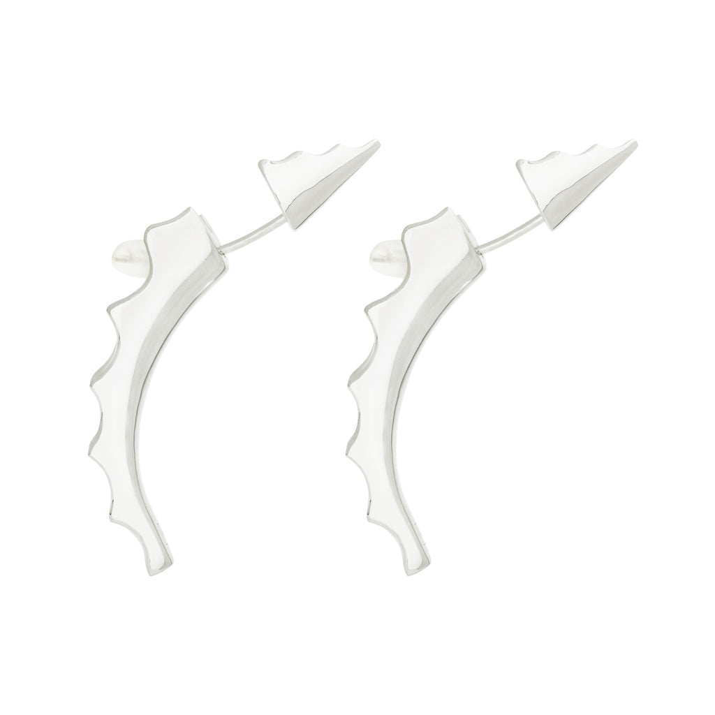 The Spike Jonze Dagger Earring - Sterling Silver