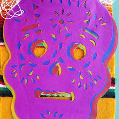 Dia de Muertos Papel Picado in multiple sizes