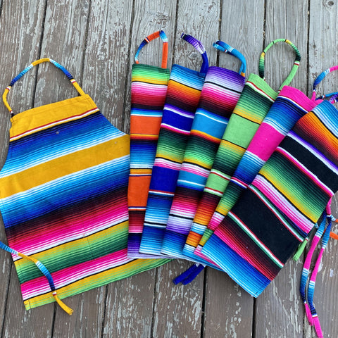 Children's Sarape Aprons