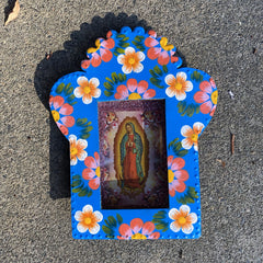 Virgencita Large Tin Nichos