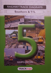 Railway Track Diagrams: Southern & T f L 5