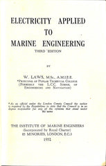 Electricity Applied to Marine Engineering