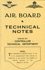 Air Board Technical Notes Vol. 1 Aircraft Engines