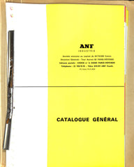 ANF Industrie Catalogue General (French)