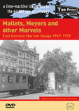 DVD Mallets, Meyers and other Marvels - East German Narrow Gauge 1967-1970