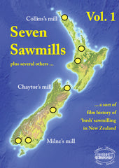 Seven Sawmills plus several others ... Vol. 1 • 80 mins