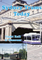 DVD  Sydney Trams Today - Sydney Light Rail and Sydney Tramway Museum