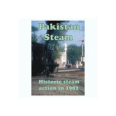 Pakistan Steam - Historic steam action in 1982 App 53 mins  DVD