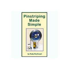 Pinstriping Made Simple 69 mins   DVD