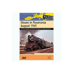 Steam in Roumania August 1969 57 mins B&W and colour Stereo Sound DVD