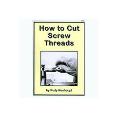 How to Cut Screw Threads 43 mins DVD