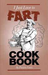 I Just Love To Fart CookBook- Damaged