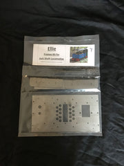 "Jackshaft ""Ellie"" Locomotive Frames Kit TABBED for easy Assembly"