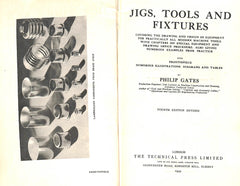Jigs, Tools and Fixtures