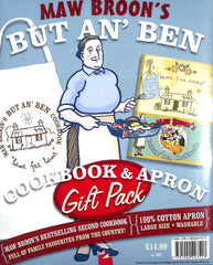 Maw Broon's But An' Ben- Cookbook and Apron Gift Pack