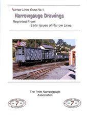 Narrow Lines Extra No.4- Narrow gauge Drawings