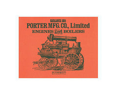 Porter Mfg.Co., 1884 Catalogue of Engines and Boilers