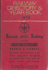 Directory of Railway Officials & Year Book 1973 - Secondhand