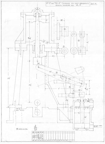 V8 Engine Cad Drawings