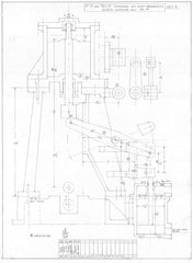 Leak 'Large' Marine Compound Engine Drawings (A3 size)