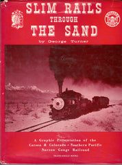 Slim Rails Through The Sands - George Turner - Second Hand