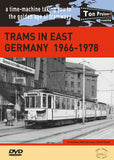 DVD Trams in East Germany 1966-1978  51 mins • B&W & colour