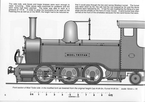 Welsh Highland Railway The original service years - 1922 to 37 16mm