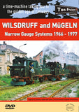 DVD Wilsdruff and Mügeln Narrow Gauge Systems  1966-1977
