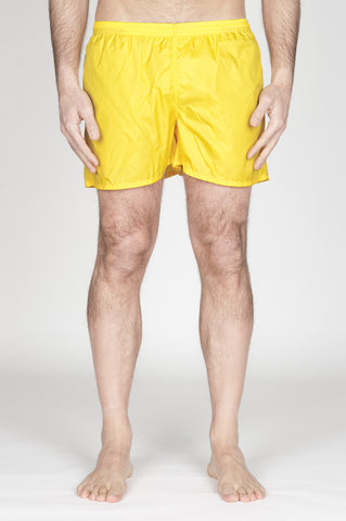Strategic Business Unit - 00753 - Costume Pantaloncino Classico In Nylon Ultra Leggero Giallo - Swimsuit Classic Trunks In Yellow Ultra Lightweight Nylon - 超軽量ナイロンの水着クラシックトランク