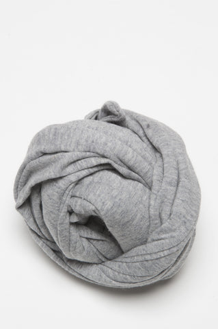 Strategic Business Unit - 00382 - Sciarpa Classica Da Uomo In Costina Di Cotone Grigio Chiaro - Classic Light Grey Rib Cotton Spring Scarf For Men - 男性のための古典的なライトグレーリブコットン春のスカーフ