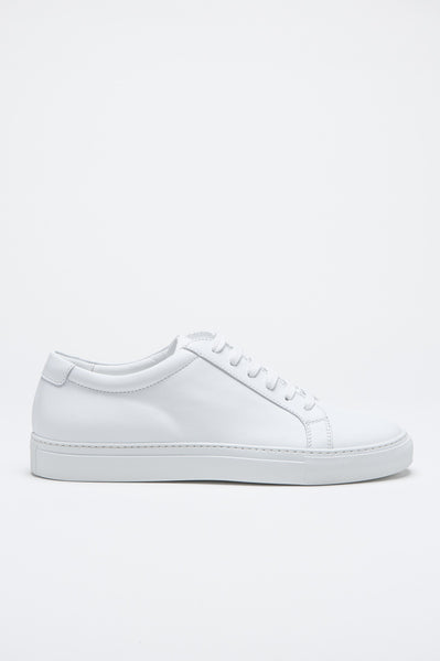 Strategic Business Unit - 00504 - Sneakers Classiche Di Pelle Bianche - Classic Sneakers In White Calf-Skin Leather - ホワイトカーフスキンで古典的なスニーカー