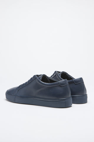 Strategic Business Unit - 00505 - Sneakers Classiche Di Pelle Blue - Classic Sneakers In Blue Calf-Skin Leather - ブルーカーフスキンレザーでクラシックなスニーカー