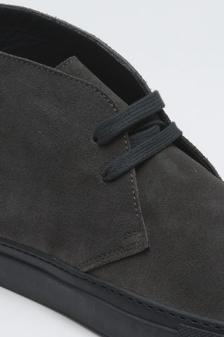 Strategic Business Unit - 00507 - Original Chukka Boots Mid Top Di Pelle Scamosciata Grigia - Original Mid Top Grey Suede Leather Chukka Boots - 元の半ばトップグレースエードレザーチャッカブーツ