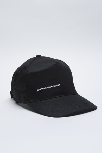 Strategic Business Unit - 00548 - Baseball Cap Classico Di Cotone Nero - Classic Cotton Baseball Cap Black - 古典的な綿の野球帽黒に