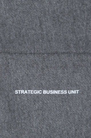 Strategic Business Unit - 00554 - Berretto Classico In Jersey Taglio Vivo Grigio - Classic Sharp Cut Grey Jersey Bonnet - 古典的なシャープカットグレージャージボンネット