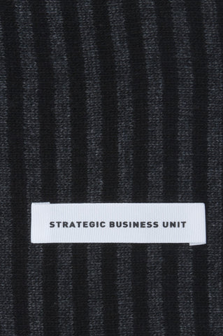 Strategic Business Unit - 00586 - Sciarpa Classica Da Uomo Misto Cachemire Rigata Grigia E Nera - Classic Striped Winter Scarf In Cashmere Blend Grey And Black - カシミヤブレンドグレーと黒でクラシックなストライプの冬のスカーフ