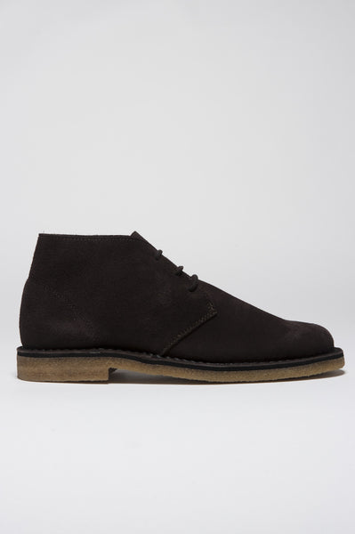 Strategic Business Unit - 00131 - Classic Desert Boots Marrone In Pelle Scamosciata - Classic Desert Boot In Brown Suede Leather - 茶色のスエードレザークラシック砂漠のブーツ