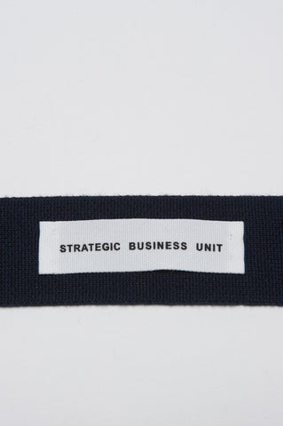 Strategic Business Unit - 00142 - Cravatta In Maglia Di Lana Merino Blue - Skinny Wool Knit Tie In Blue Merino Wool  - ブルーメリノウールスキニーウールニットネクタイ