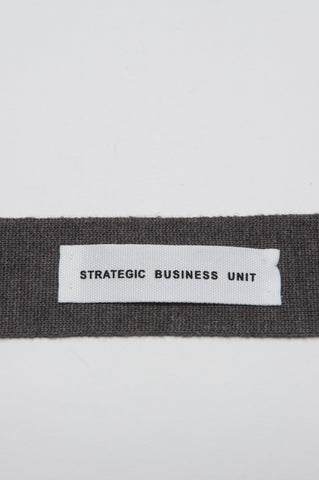 Strategic Business Unit - 00151 - Cravatta In Maglia Di Lana Merino Tortora A Punta - Skinny Wool Knit Pointed Tie In Turtledove Merino Wool - キジバトメリノウールスキニーウールニット尖ったネクタイ