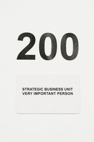 Strategic Business Unit - GC200 - Online Gift Card 200 - Online Gift Card 200 - Gift Card 200