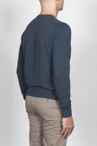 Strategic Business Unit - 00002 - Pullover Girocollo Classico Grigio In Cashmere - Classic Crew Neck Sweater In Grey Cashmere - グレーのカシミアクラシッククルーネックセーター