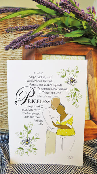Mature & Priceless Love - Any Occasion Card