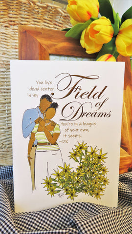 Field of Dreams - Any Occasion Card