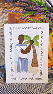 Ocean Waves - Any Occasion Card