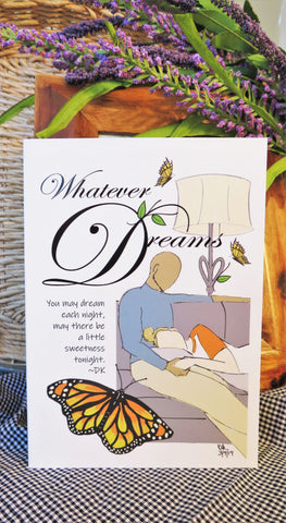Butterfly Dream Nap - Any Occasion Card