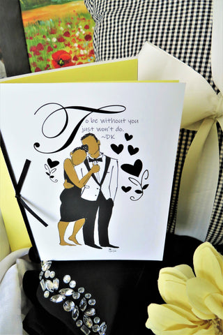 Formal Affair - Any Occasion Card