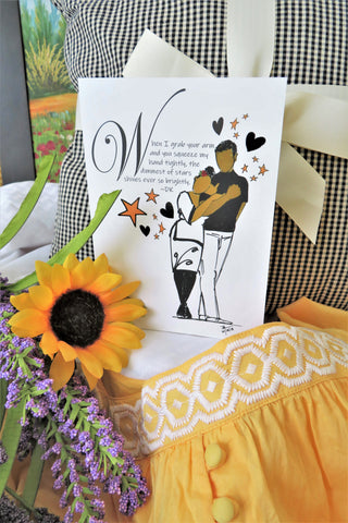 Sweethearts Arm in Arm - Any Occasion Card