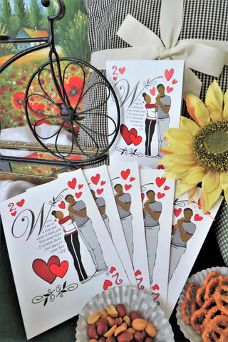 Two of Hearts - Any Occasion Card