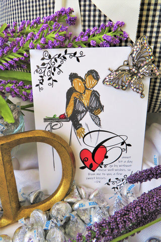 Gentle Kiss - Any Occasion Card